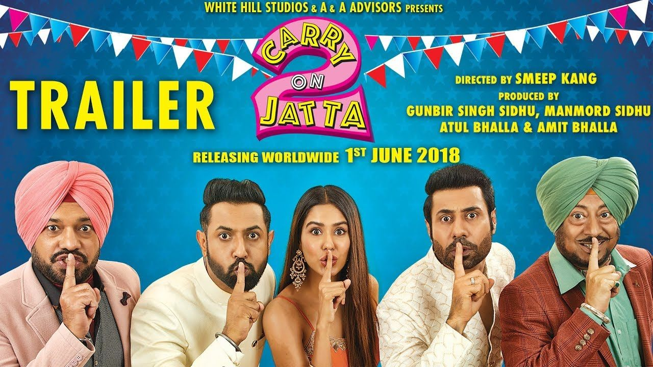 Carry on Jatta 2 is a 2018 punjabi Gippy Grewal comedy