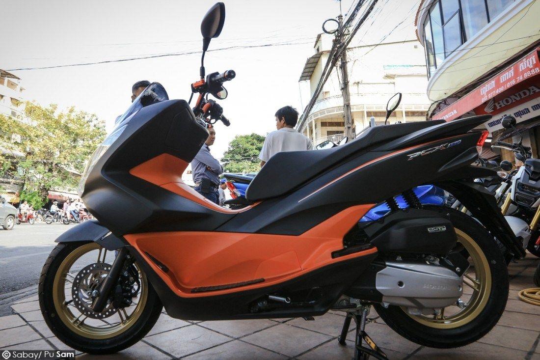 Honda Pcx 2017 Price In Cambodia