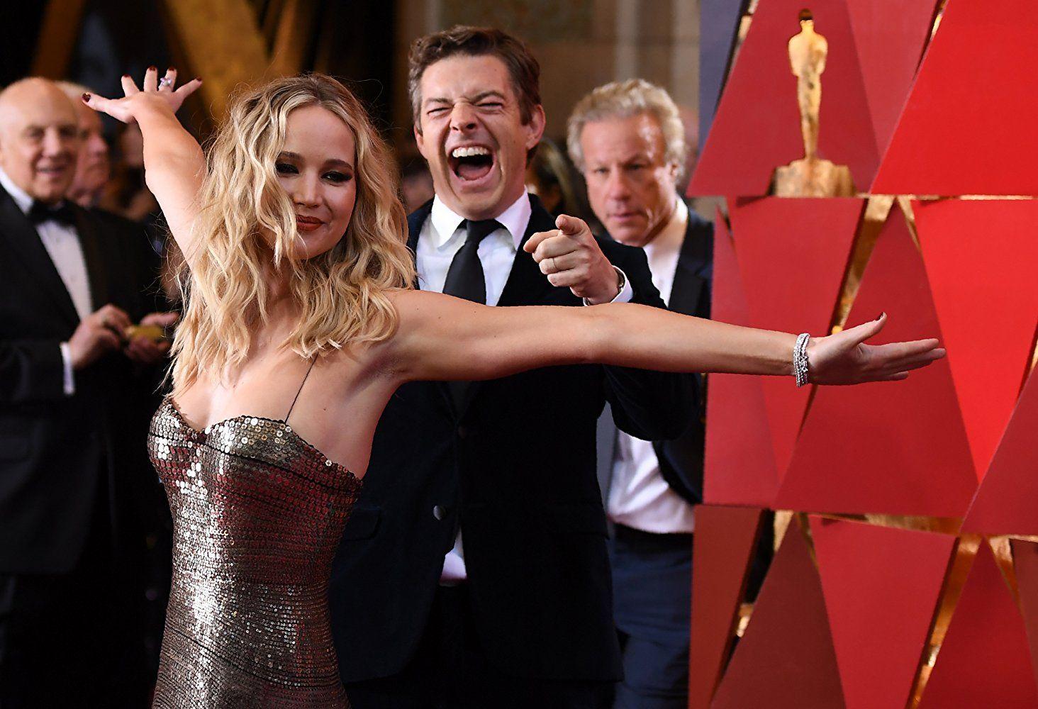 2018 Oscars: Red Carpet Photos | Jennifer lawrence photos ...