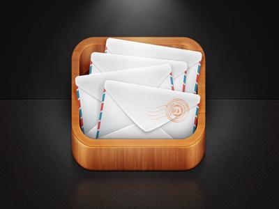 Mail App Icon Ios app icon, App icon, Ios icon