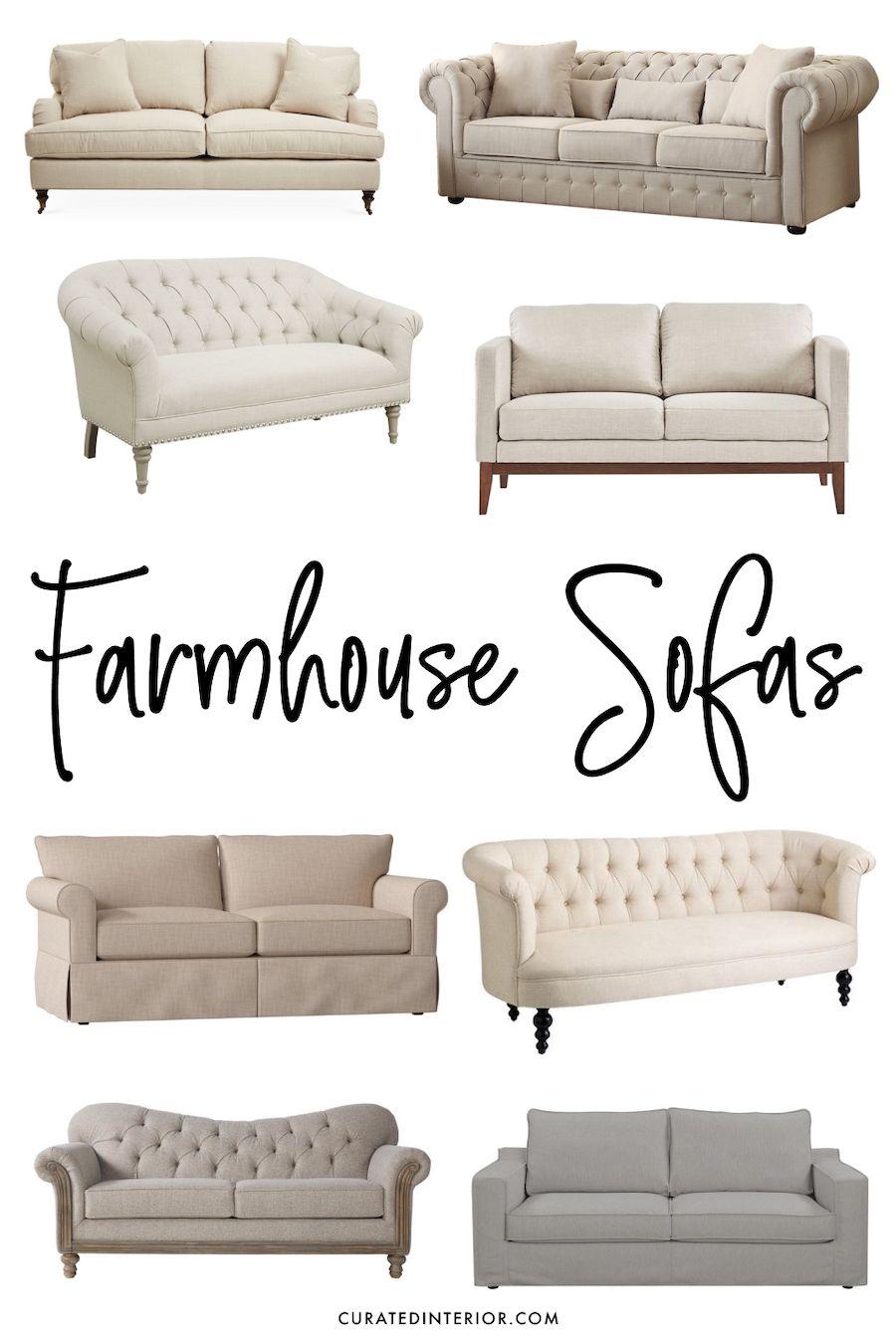 12 Perfect Farmhouse Sofas For All Budgets Farmhouse Style