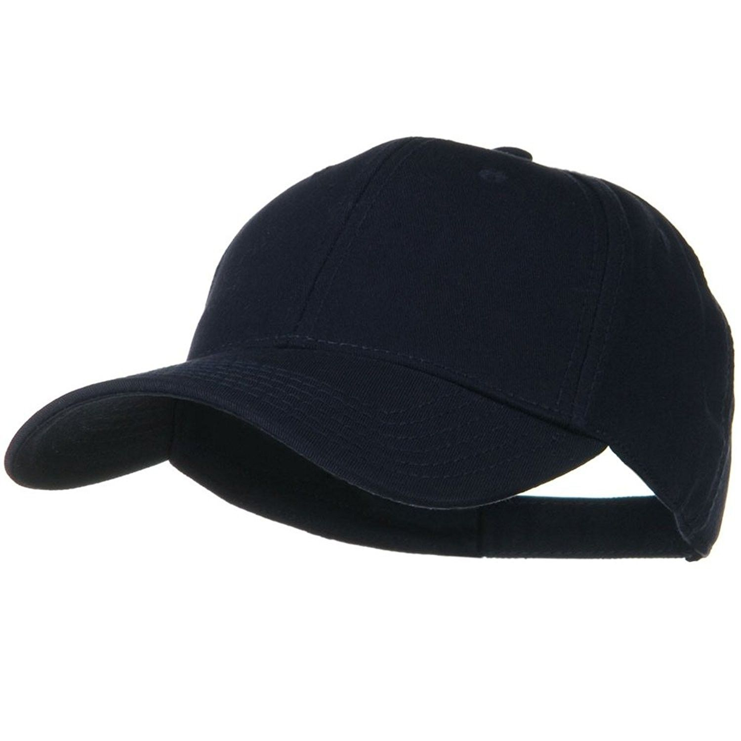 Superior Cotton Twill Low Profile Strap Cap - Navy Blue - CZ11918E1QD - Hats    Caps 19a87c4bc13