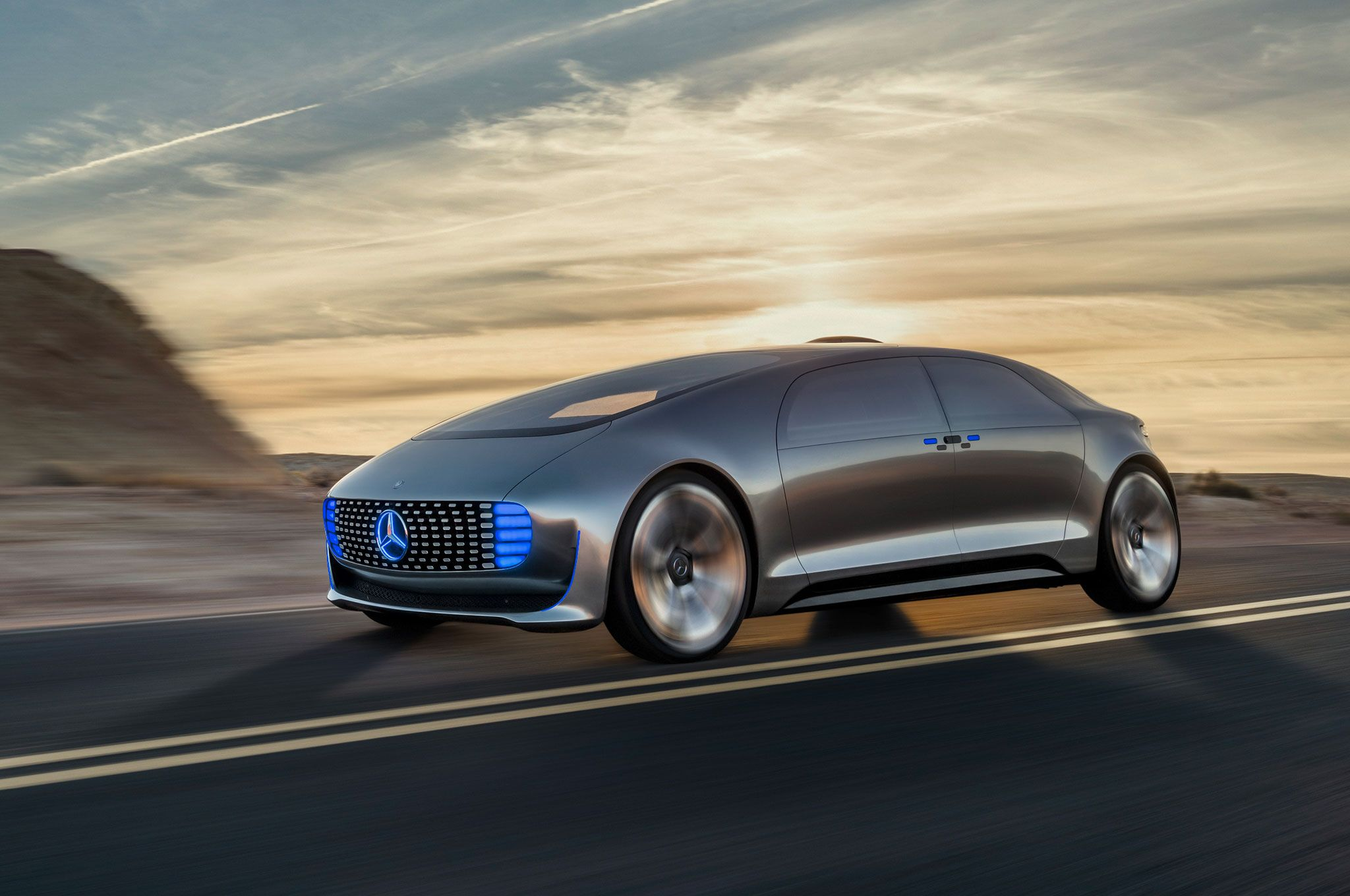 Riding In The Mercedes Benz F 015 Luxury Motion Concept Cars Design