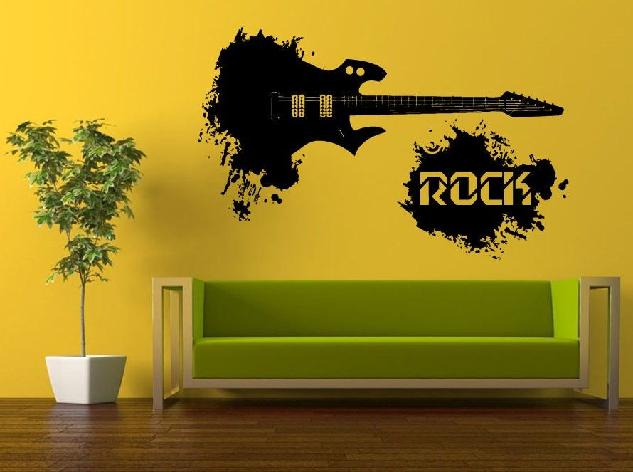 Cool Rock Music Art Decor, visit us and buy this for the best price ...
