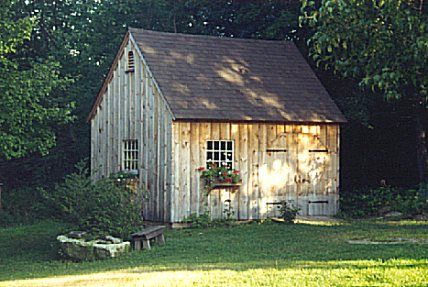 style post and beam carriage houses garden sheds - Garden Sheds Nh