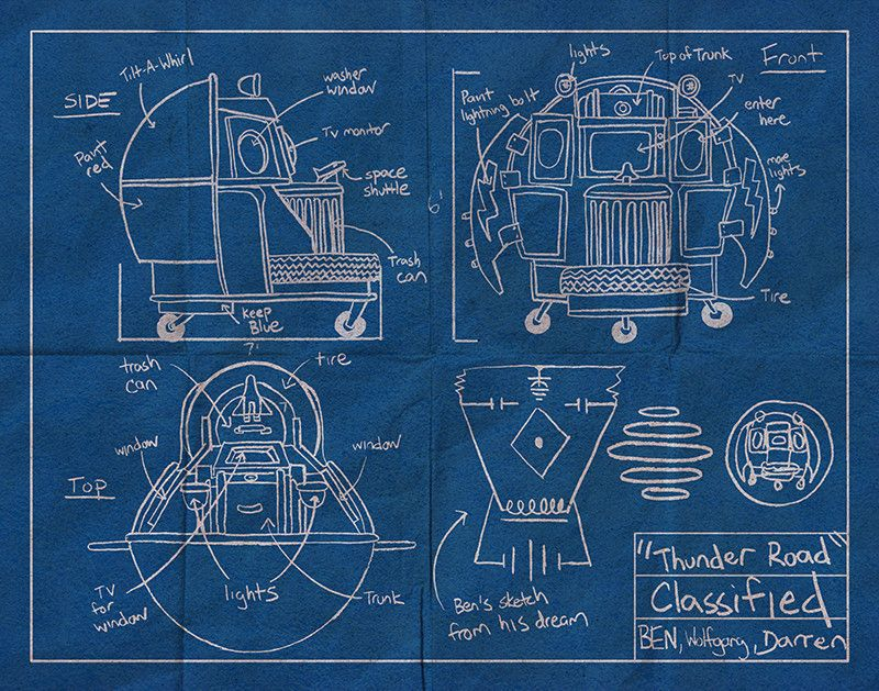 Thunder road blueprint by cuyler smith 3000 hero complex thunder road blueprint by cuyler smith 3000 hero complex gallery malvernweather Image collections