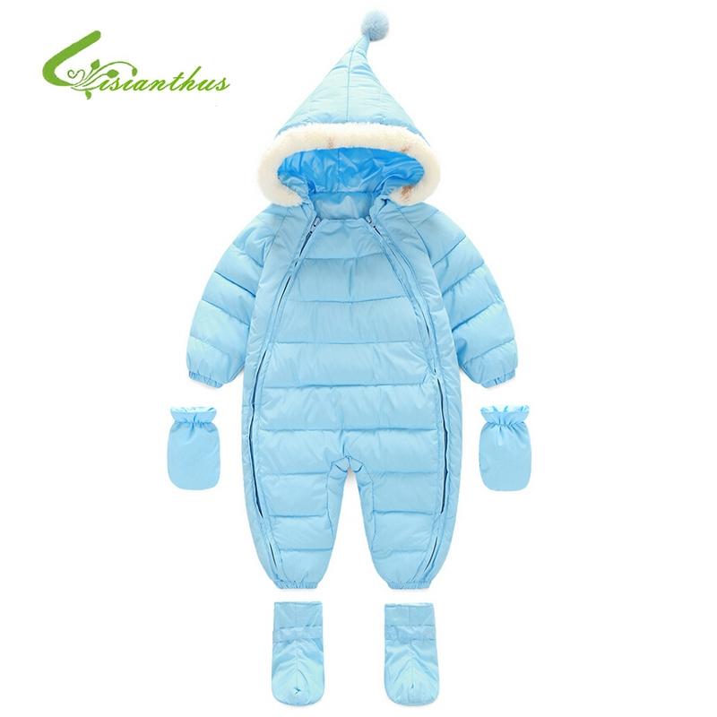 b059b791de0f 31.80 ) Buy here - Baby Girls Boys Winter Jumpsuit Clothes Snowsuit ...