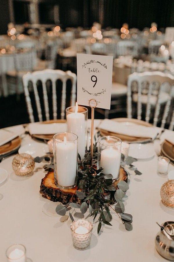 18 Fall Wedding Centerpiece Ideas for 2019 #fallweddingideas