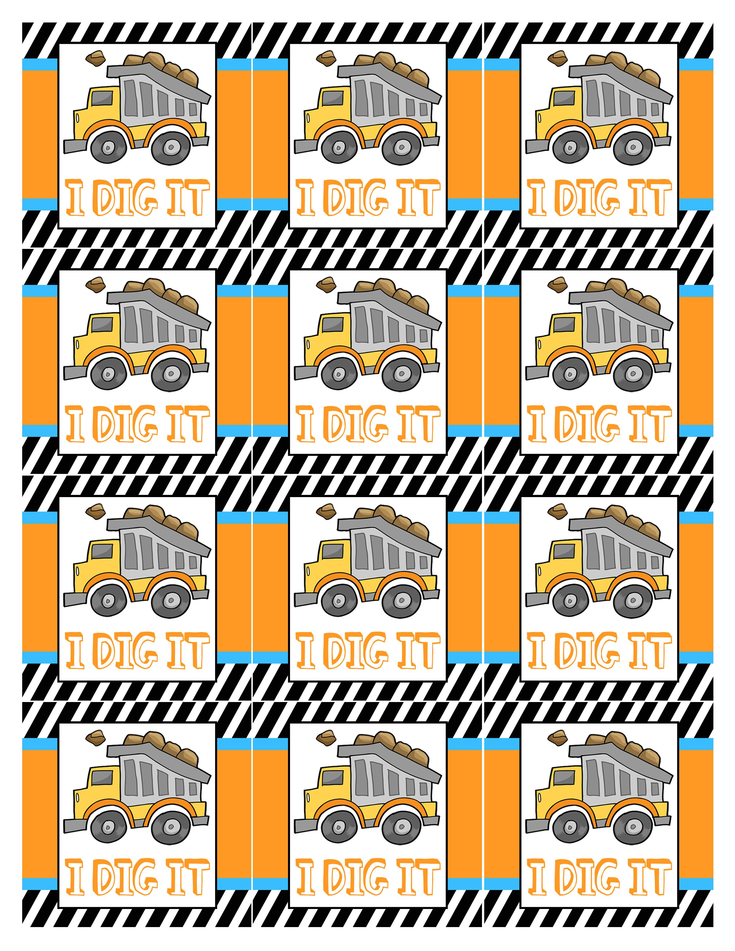 Construction Birthday Party With Free Printables