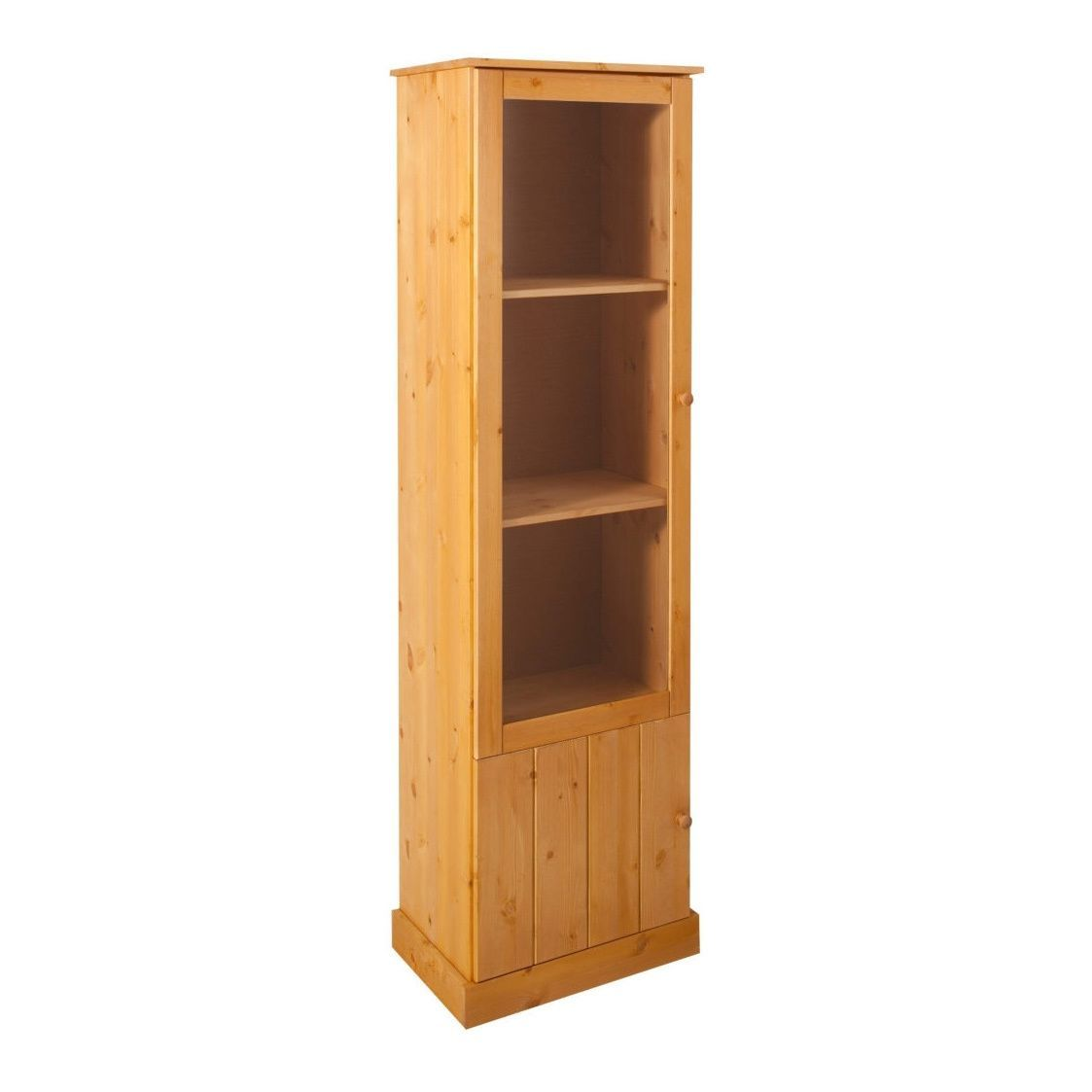 Scandinavian Lifestyle Chicago Cabinet, solid pine (Stain/wax), Tan