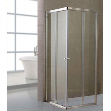 Box cabina doccia angolare reversibile con porte - Cabina doccia esterna ...