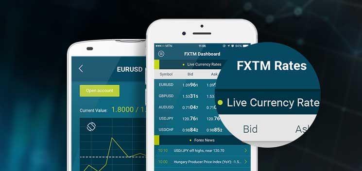 Fxtm Trader App Mobile App App Trading