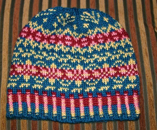 Example of fair isle knitting.... | Knitting Goals | Pinterest ...