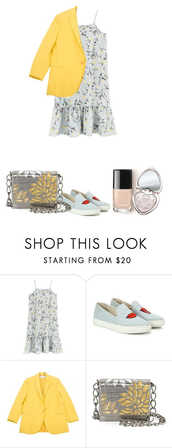 """Carefree."" by vii-xxiv ❤ liked on Polyvore featuring Soludos, STELLA McCARTNEY, Nancy Gonzalez and Too Faced Cosmetics"