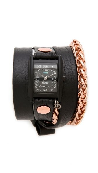 La Mer Collections Motor Chain Wrap Watch £70.57