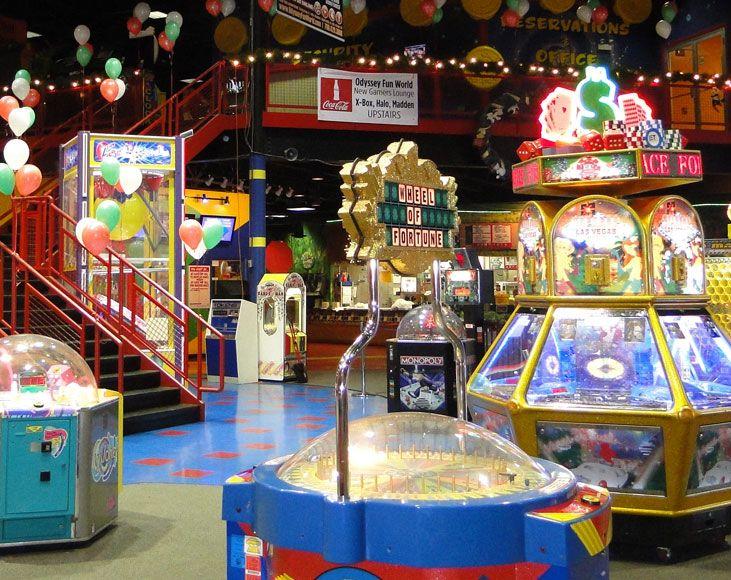 Odyssey Fun World Tinley Park Il Fun World Kids Party Venues Fun