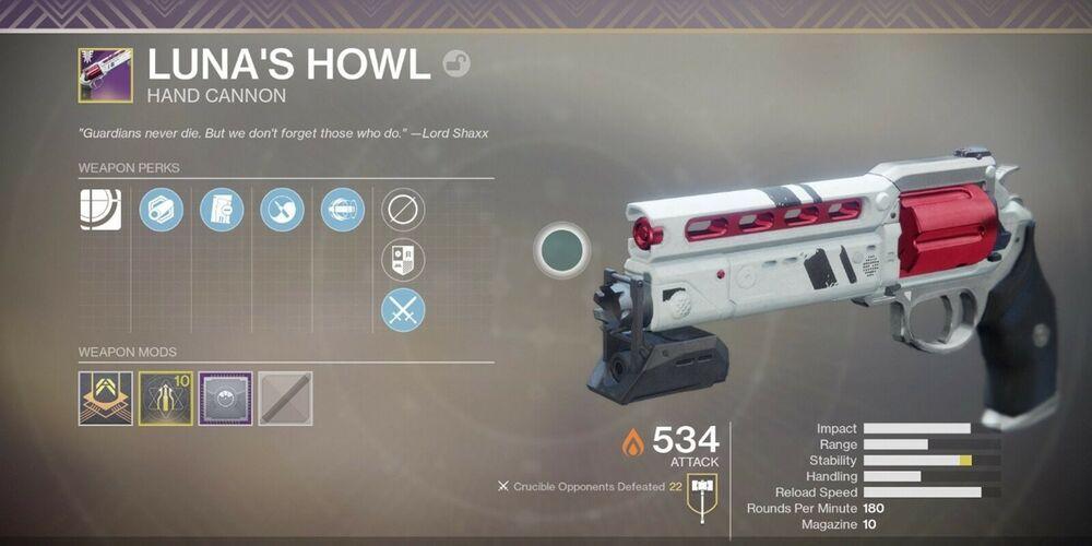 Destiny 2 Lunas Howl Guaranteed Account Recovery Xbox one