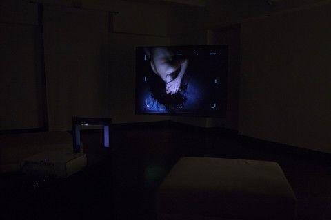 Andrea Rosset – Intra - installation view at Fusion Art Gallery, Torino 2016 - photo Davies Zambotti