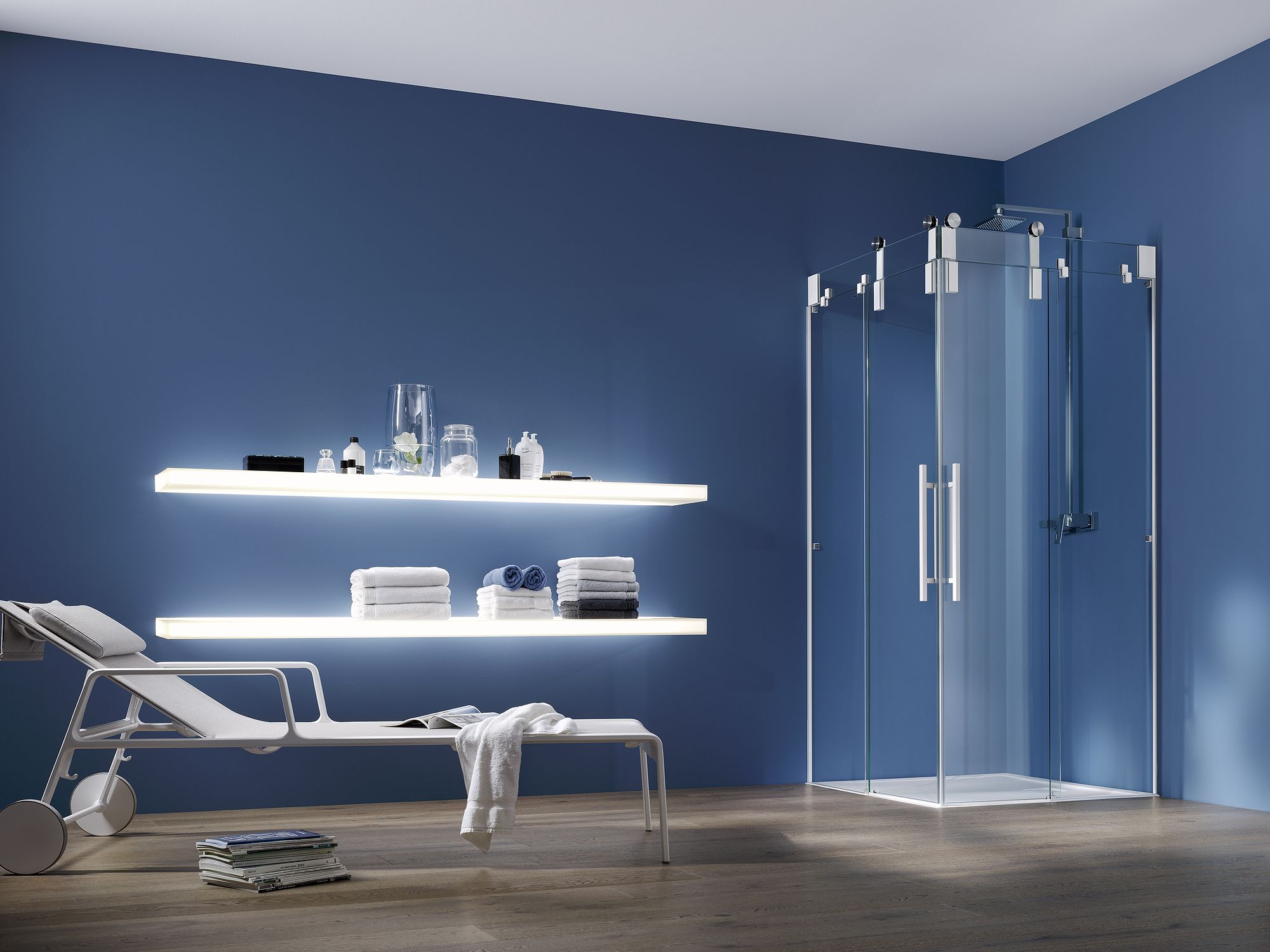 PALME® Duschkabine für das Badezimmer. Dusche