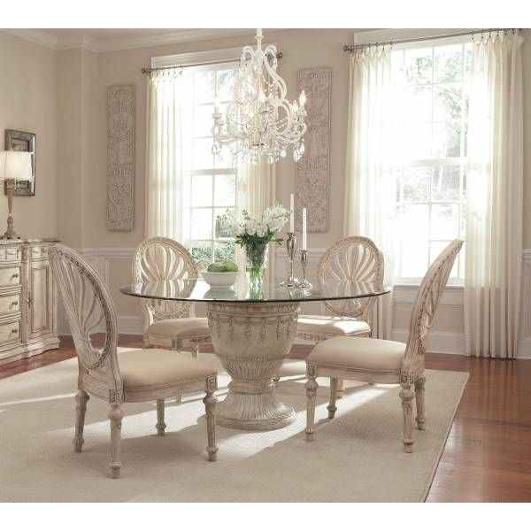 Dining Room Sets Houston: Empire II Round Dining Group