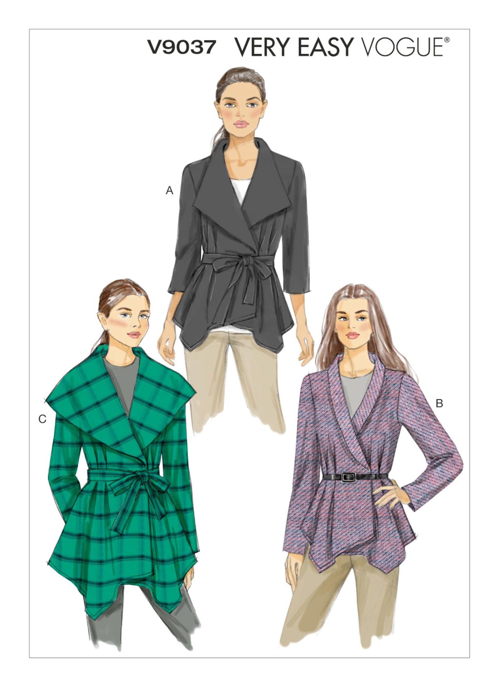 V9037 | Vogue Patterns | Crafting - Sewing Patterns | Pinterest