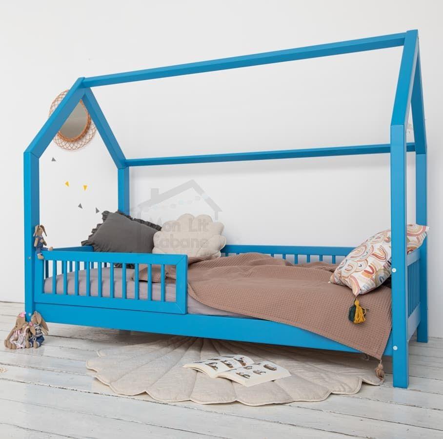 Nouveautes Notre Lit Cabane B Est Des A Present Disponible Dans 2 Nouvelles Couleurs Vieux Rose Et Bleu En Esperant Que Ces Mode Toddler Bed Room Bed