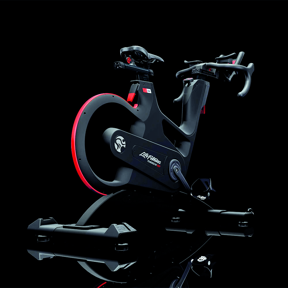 spin bike from LifeFitness Fit life, Indoor cycling bike