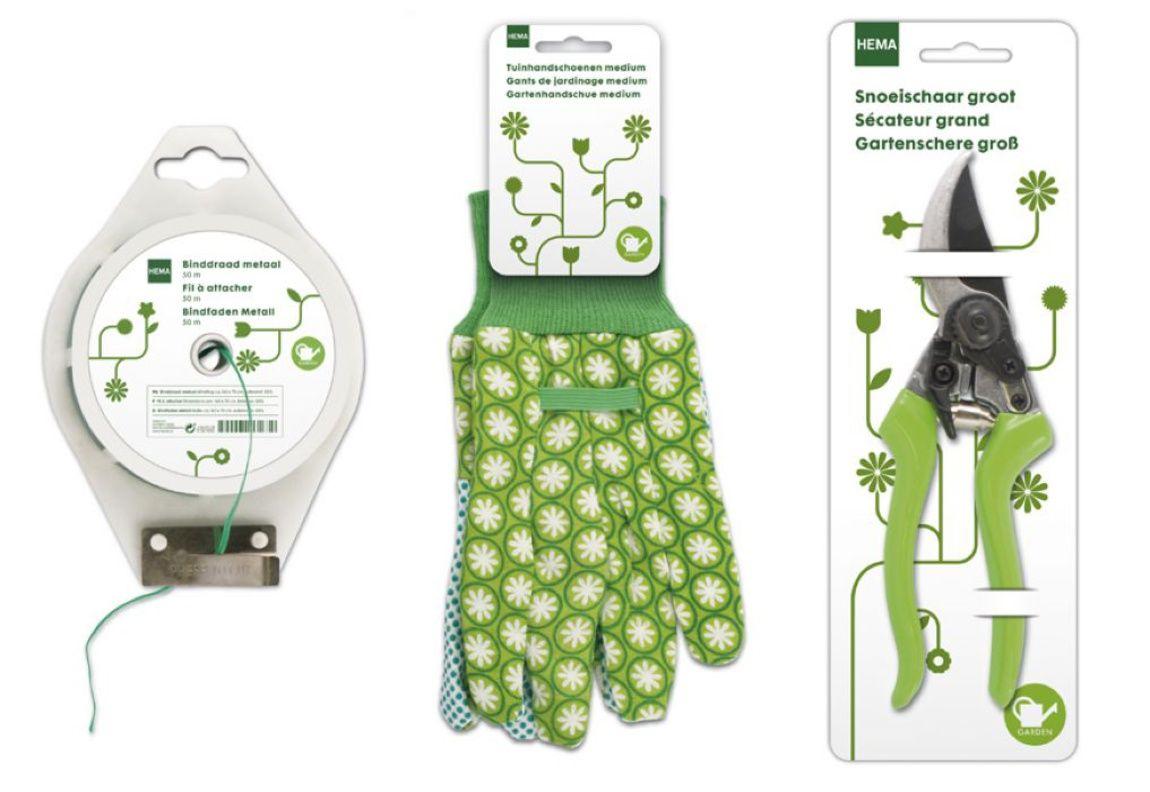 Read more: https://www.luerzersarchive.com/en/magazine/print-detail/hema-47103.html Hema Packaging for HEMA brand gardening equipment. Tags: Studio Kluif, 's-Hertogenbosch,Paul Roeters,Hema,Sander Tielen