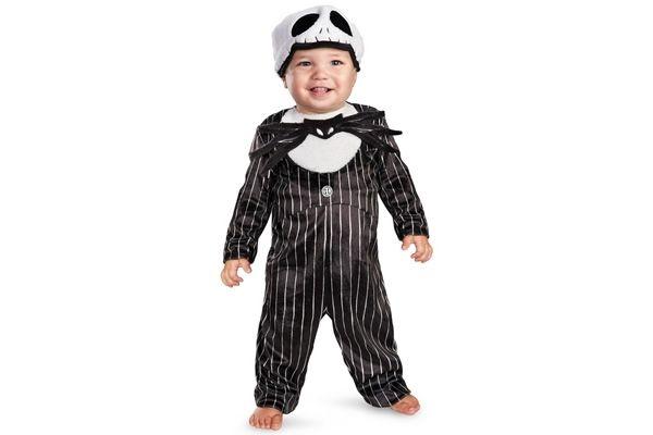 Baby Boys Jack Skellington Nightmare Before Christmas Halloween Costume 12-18M