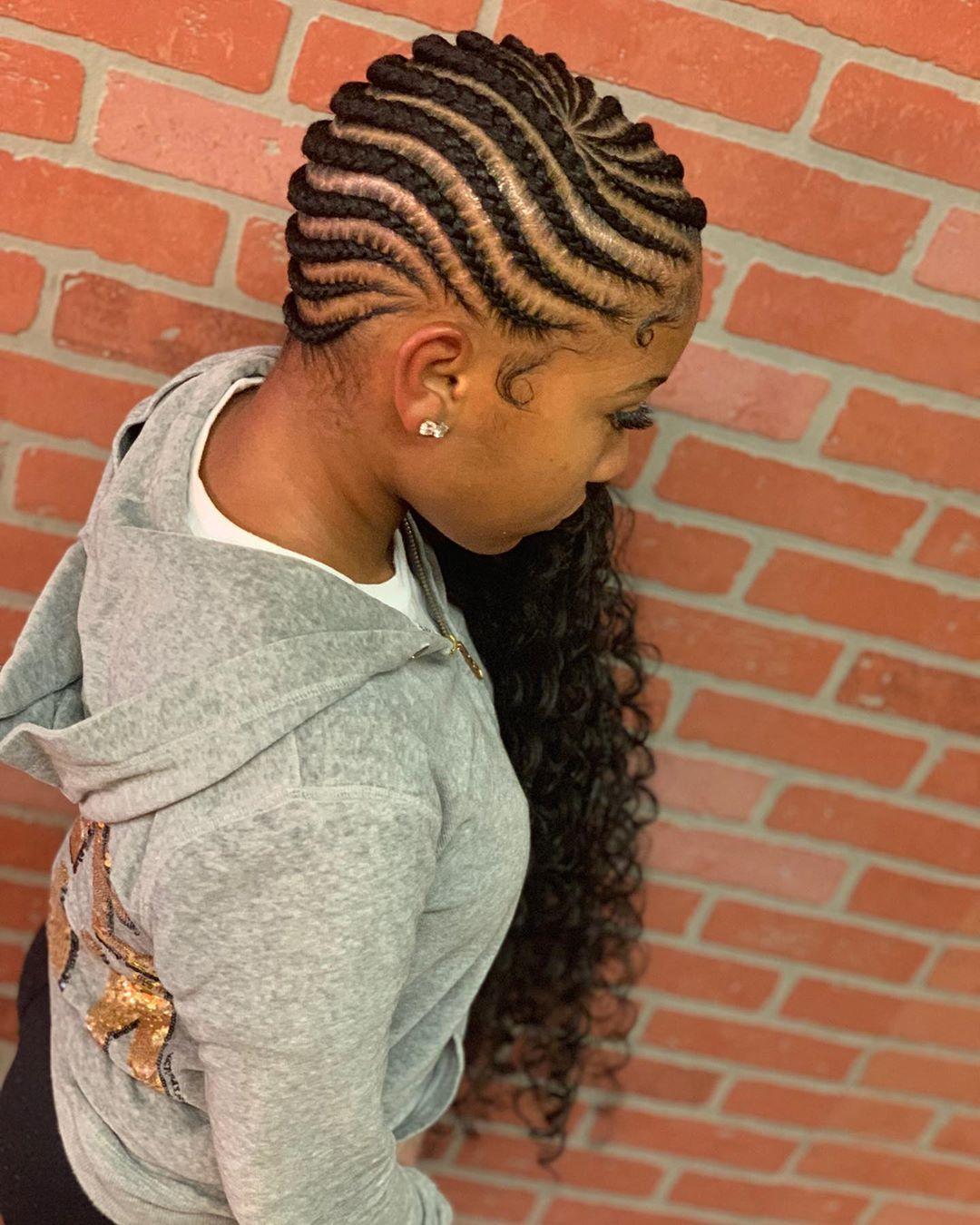 Dabraidway On Instagram Medium Boho S Lemonadebraids Lemonadebraids African Braids Hairstyles Braids With Curls Lemonade Braids Hairstyles