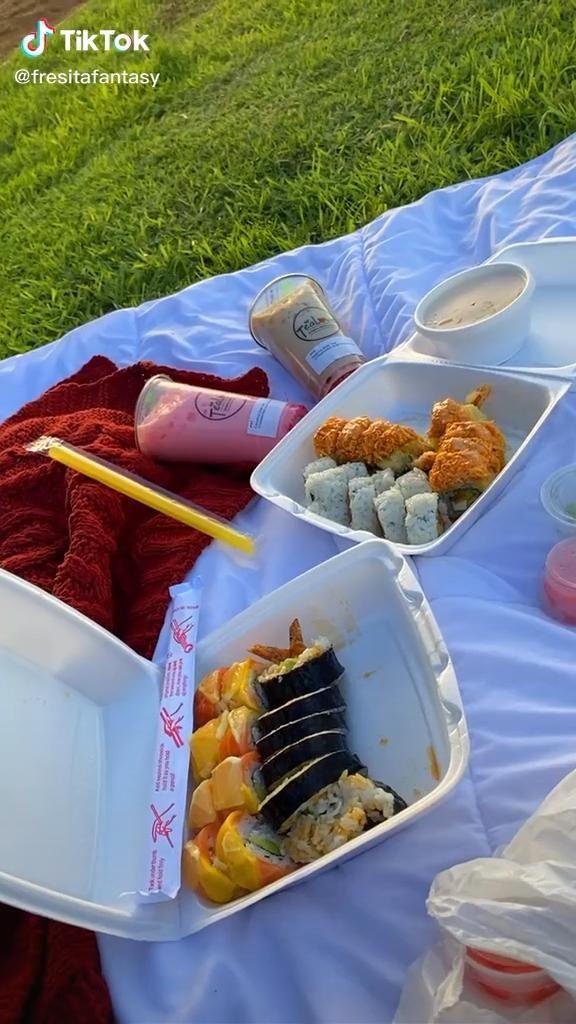 Tiktok Video Picnic Inspiration Picnic Birthday Picnic Foods