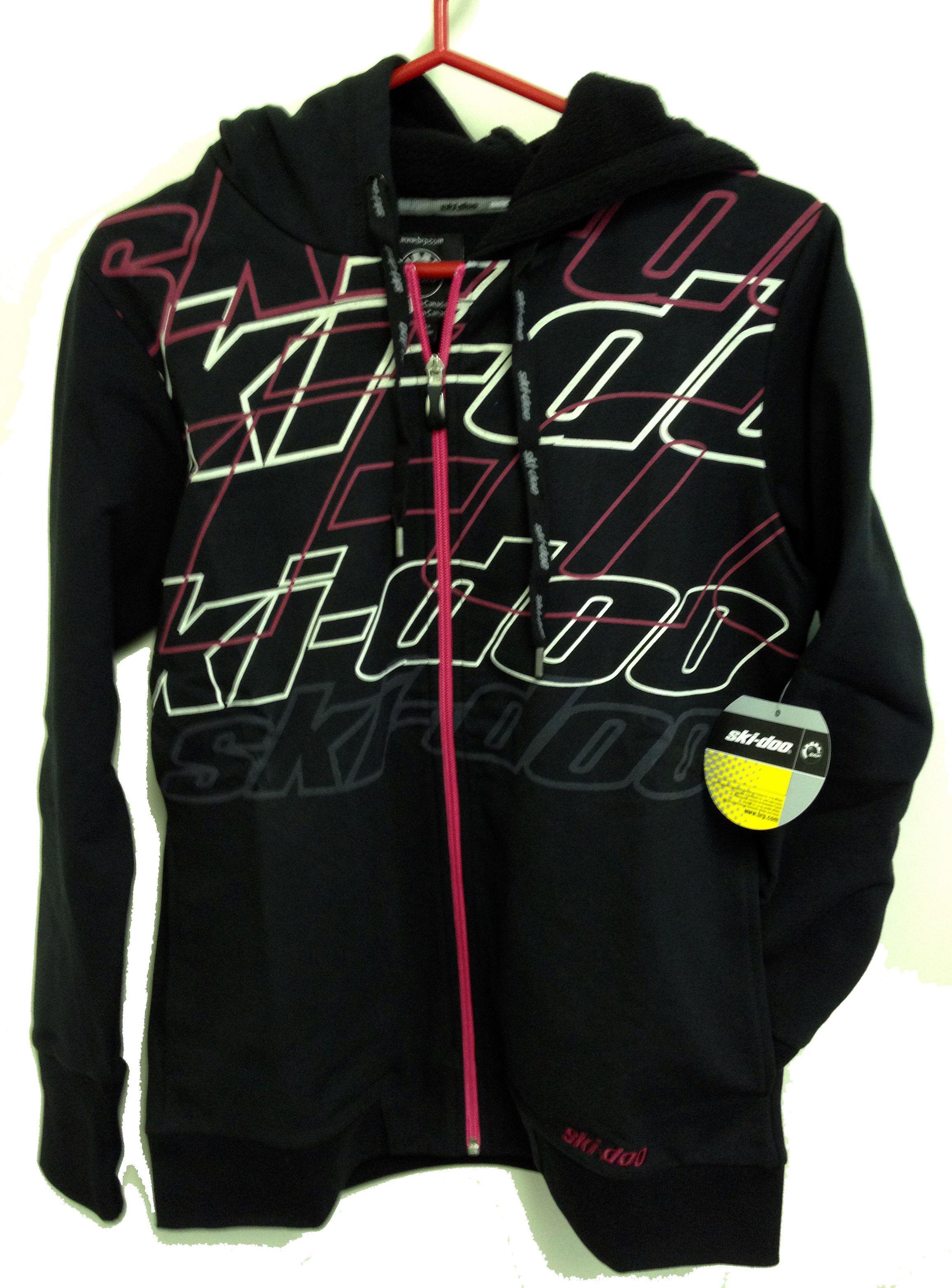 Women S Medium Black Raspberry Ski Doo Fleece Hoodie Fleece Hoodie Clothes Jersey Shirt
