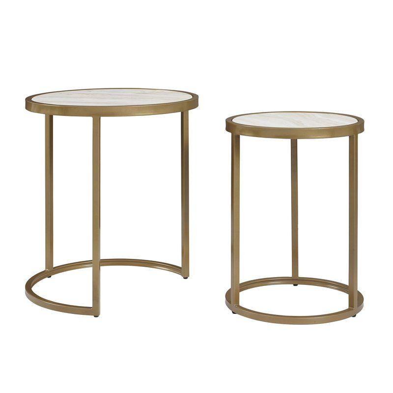 Mercer41 Selzer 2 Piece Nesting Tables Reviews Wayfair