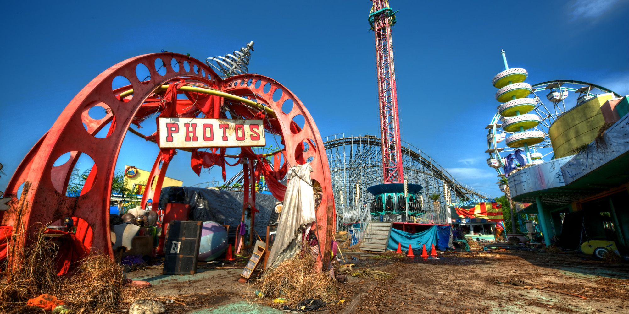 Six Flags New Orleans Abandoned Theme Parks Abandoned Amusement Parks Six Flags New Orleans