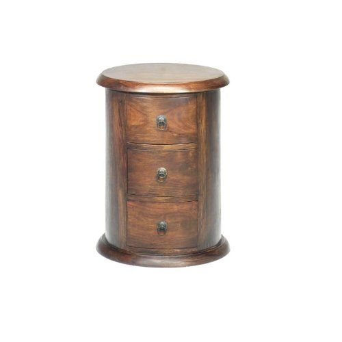 Jali Sheesham 3 Drawer Drum Chest of Drawers - Indian Wood Furniture Jali  Sheesham Furniture http