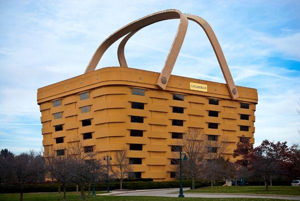 Building · #UnusualBuilding   The Basket Building  Ohio ...