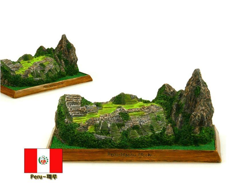 Hot Sale U.S Peru Machu Picchu Creative Resin Crafts World ...