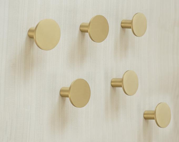 Brass Wall Hooks Decorative Hooks Wall Hook Coat Hangers Etsy In 2020 Brass Wall Hook Wall Hooks Decorative Wall Hooks