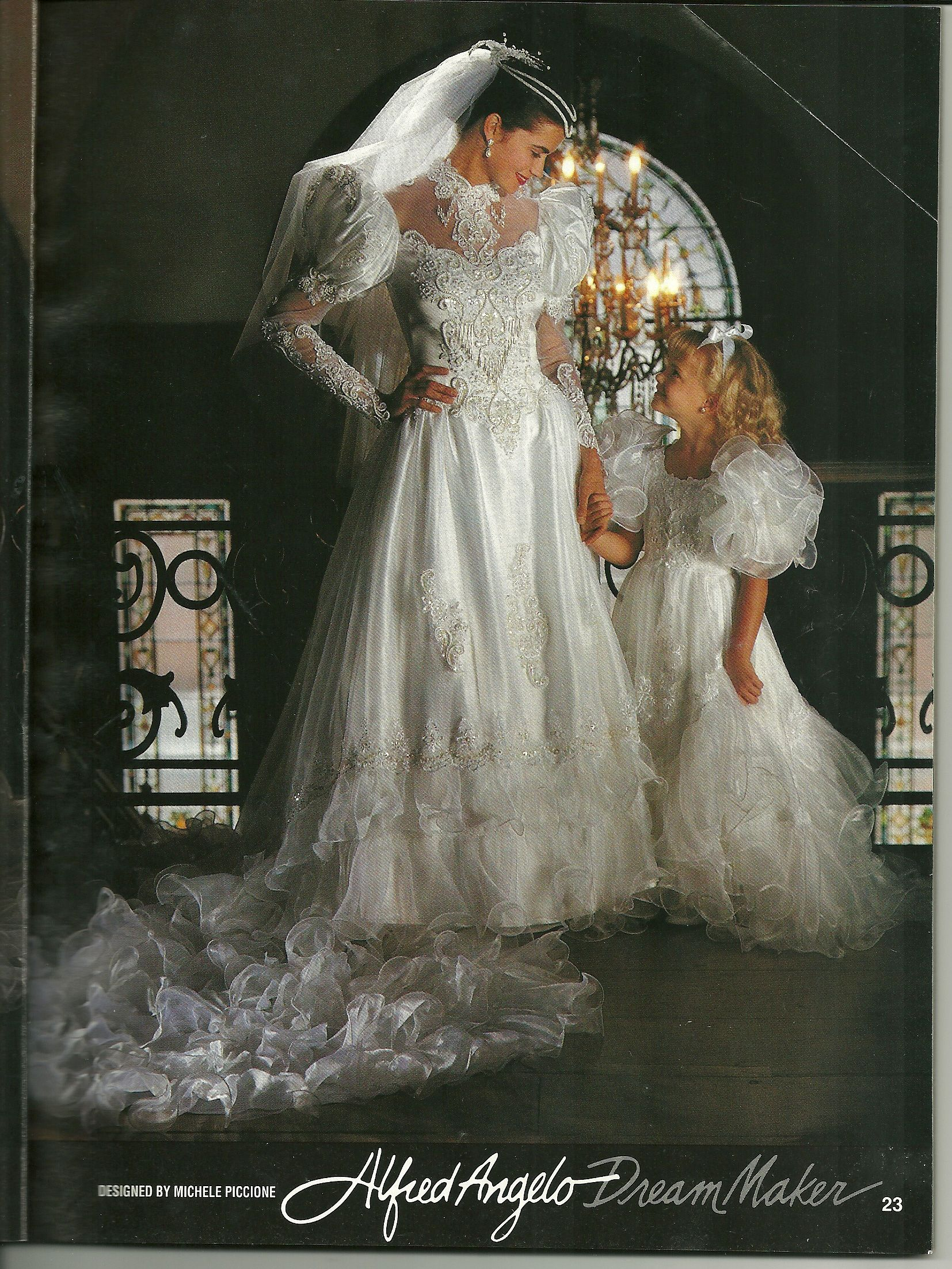 Alfred Angelo Dream Maker Spring Of 1992 I May Pined This One Before