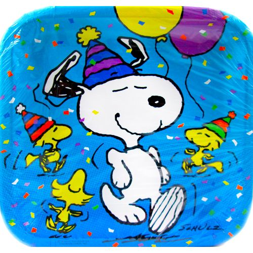 Peanuts Birthday Snoopy Large Paper Plates (8ct)  sc 1 st  Pinterest & Peanuts Birthday Snoopy Large Paper Plates (8ct) | Snoopy ...