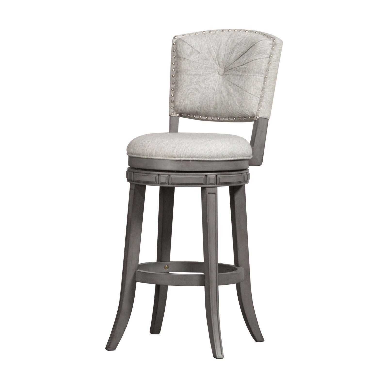 Hillsdale Furniture Santa Clara 30 In Swivel Bar Stool Swivel Counter Stools Bar Stools Hillsdale Furniture