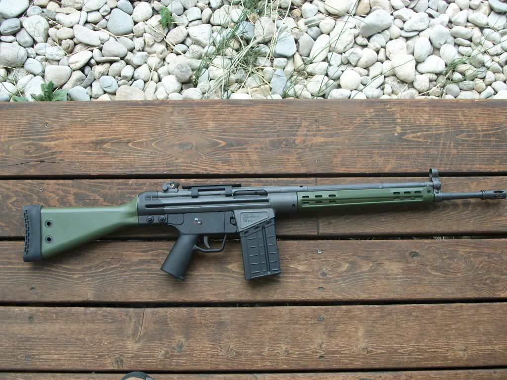 small resolution of a beautiful ptr 91 gi rifle