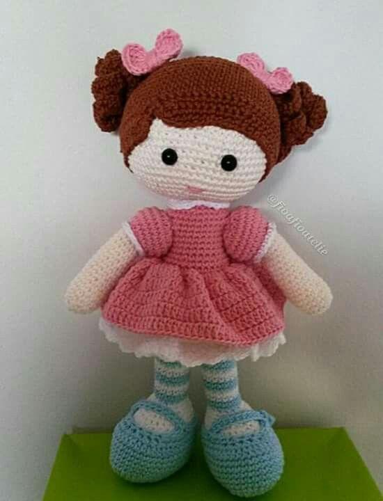 Bonecas De Crochê Com Dicas De Receitas   720x550