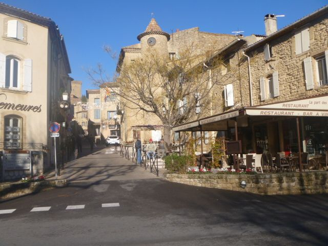 Fascinating little streets leading up to the chateau where the view is great.