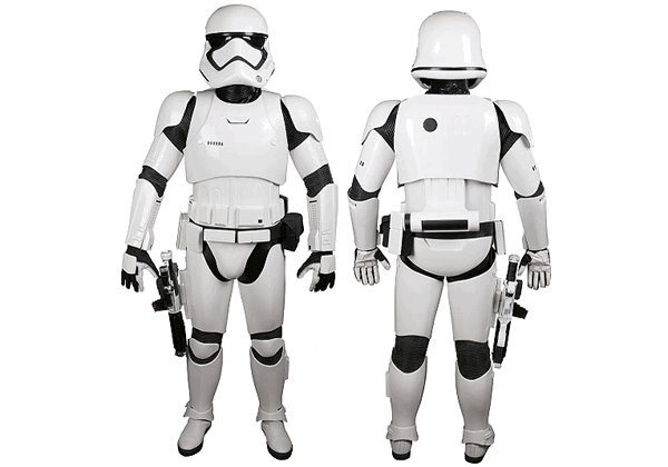 Star Wars The Force Awakens Stormtrooper Armor For Cosplay Free Papercraft Download Storm Trooper Costume Stormtrooper Star Wars Costumes