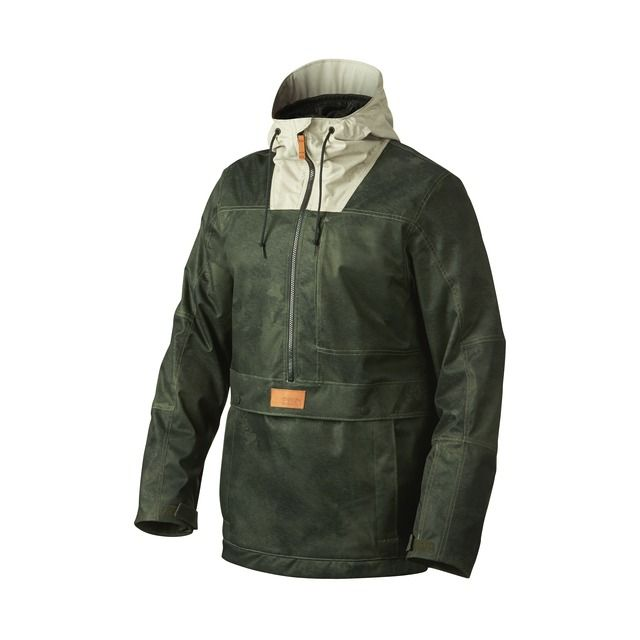 pioneer jacket. shop oakley pioneer biozone™ shell pullover jacket in herb smoke at the official online 1