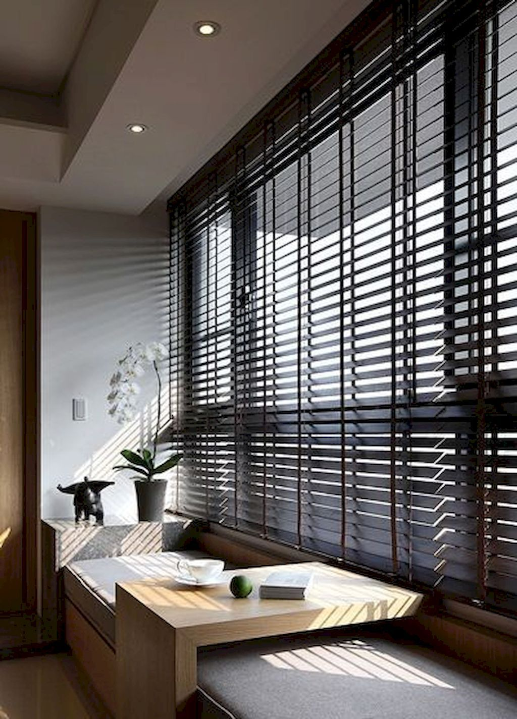 Yes to thick blinds also top architecture is never boring take  look on buildings rh pinterest