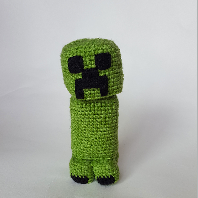 Minecraft Creeper Amigurumi