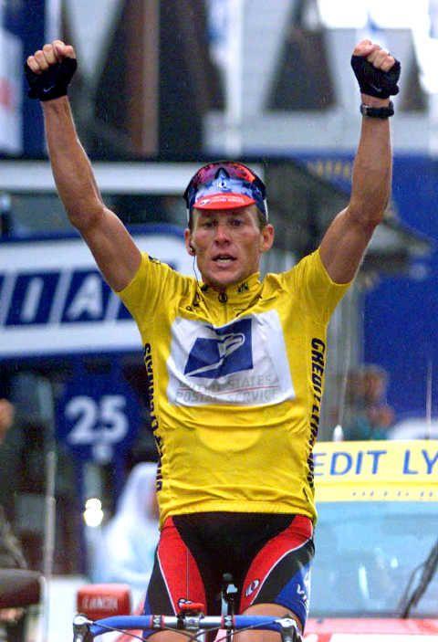 Lance Armstrong Wins Tour De France Tour De France Cycling