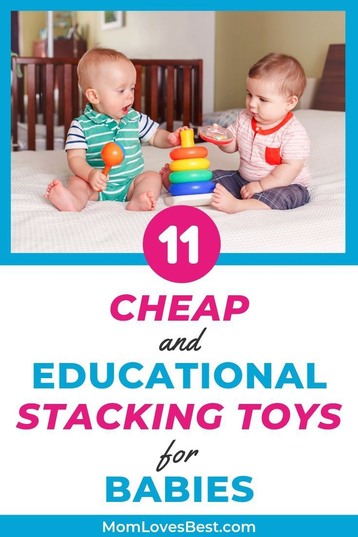 11 Best Stacking Toys for Babies (2020 Picks) | Best baby ...